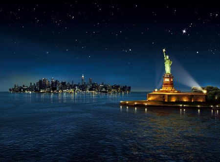 Lady Liberty Fantasy Abstract Background Wallpapers On Desktop Nexus Image 483549