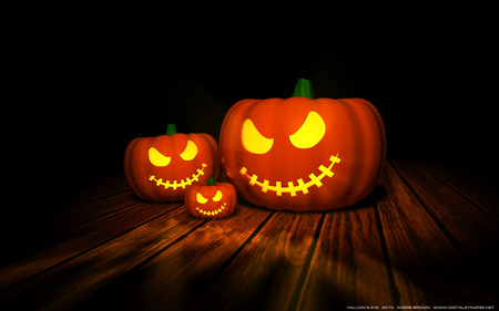 Hallows' Eve - spooky, jack o lantern, pumpkin, halloween