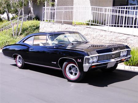 1967 chevrolet impala super sport 427 - chevrolet & cars background