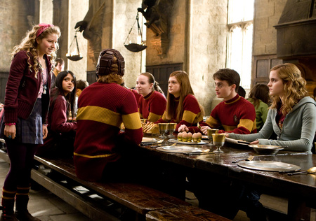 Team Gryffindor - gryffindor, half-blood prince, harry potter, quidditch