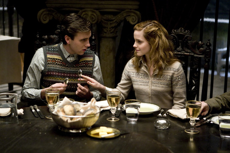 Hermione and Neville - half-blood prince, harry potter, neville, hermione