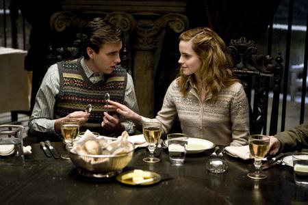 Hermione and Neville - half-blood prince, harry potter, neville, hermione