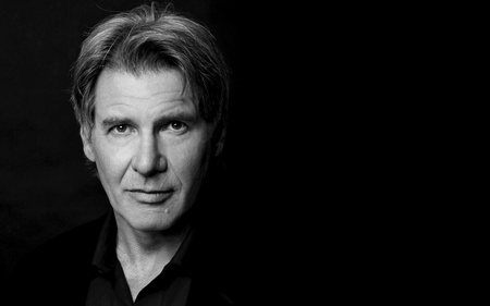 Harrison Ford - photo, harrison, male, black, actor