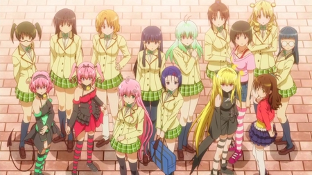 Motto To Love Ru Other Anime Background Wallpapers On
