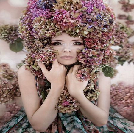 cf045126651 FLOWER HAT COVER - Photography   Abstract Background Wallpapers on ...