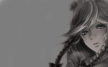 Artistic Anime - photo, cool, girl, drawing
