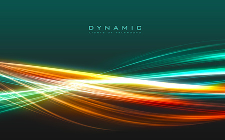Dynamic - colors, lines, abstract, background