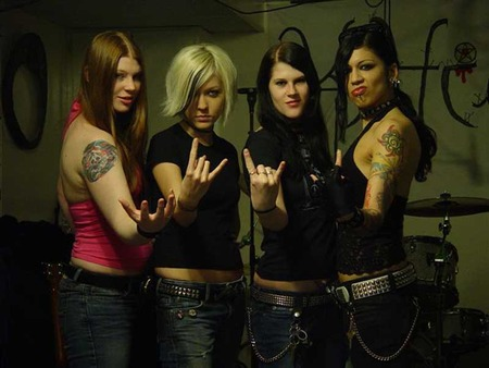 Kittie - metal, heavy metal, rock