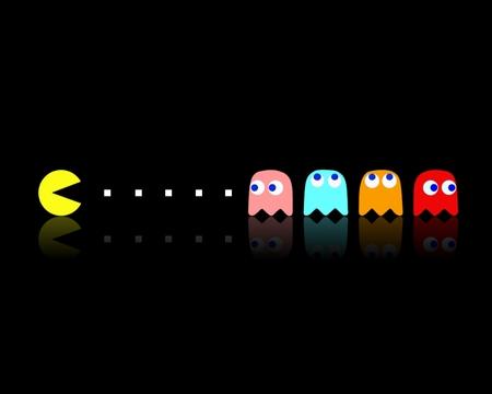 Pac Man 3d Cool Arcade Games Pac Man Video Game Flag This Wallpaper