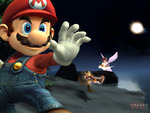 Mario Smash Bros Brawl