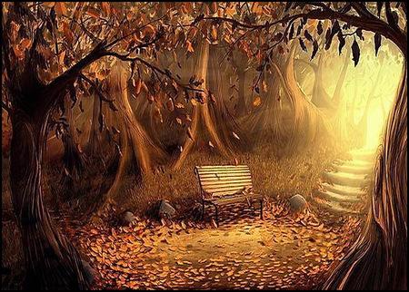 Autumn Glen 3d And Cg Amp Abstract Background Wallpapers On Desktop Nexus Image 490936