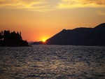 sunset in Croatia (for Anchi)