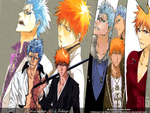 BLEACH: Grimmjow and Ichigo 01