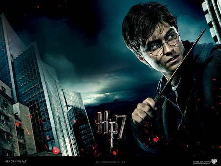 Deathly Hallows New Poster - ron, harry, hermione, darklord