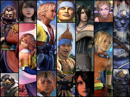 Final Fantasy 10 - fantasy, all, 10, final