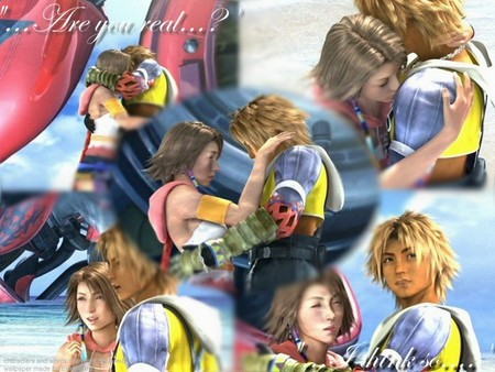Tidus and Yuna - tidus, fantasy, final, yuna