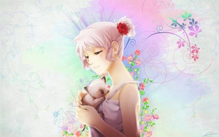 Cat Lover Other Anime Background Wallpapers On Desktop Nexus Image 498601