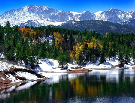 Pikes Peak Lakes Nature Background Wallpapers On Desktop Nexus