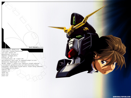 Untitled Wallpaper - gundam wing duo maxwell
