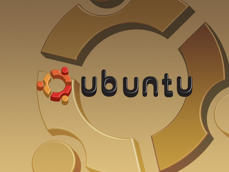 Brown ubuntu - logo, brown, ubuntu