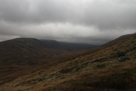 Scotland Rannoch Moor Hills Mountains Nature Background