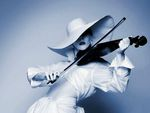 HAT AND VIOLINE
