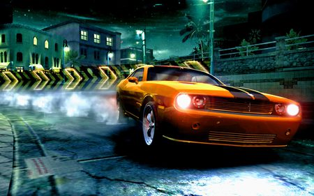 Need For Speed Carbon - ea game, road, speed, fast, game, car, need for speed, racing, night, sportcar