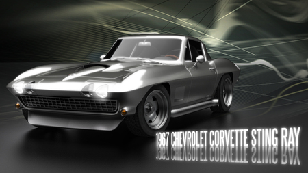 1967 Corvette Sting Ray - corvette, car, chevrolet, chevy, classic