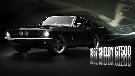 1967 Shelby GT500 - shelby, classic, car, gt500