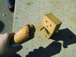 Danbo Wants His Ice-Cream