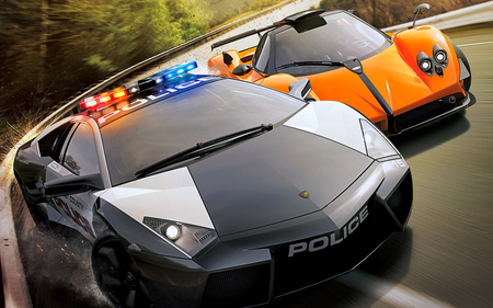 Who is faster??? - nfs, speed, need for speed, power, entartainment, games, lamborghini, zonda, race, cars