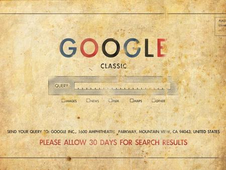 Classic GOOGLE - classic, google, old, vintage