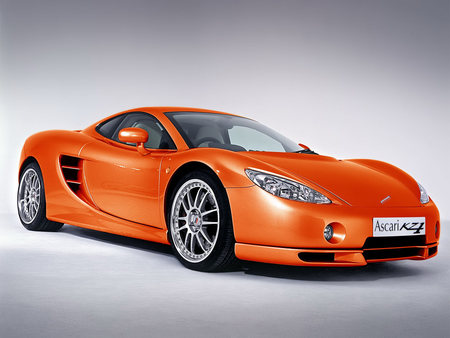 Ascari - nice rims, cool, orange, fast