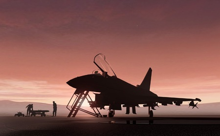 Typhoon - eurofighter, raf, force, high, euro, close, ef2000, europe, royal, aircraft, air, resolution, pilot, jet, typhoon