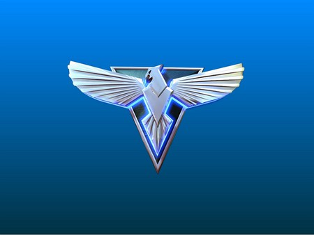 Alert Bird - wings, product, video games, army, system, softwere, console, alert, usa, bird, white, pc, blue