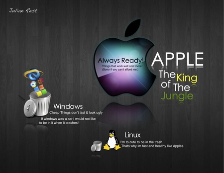 Windows Suck Apple Technology Background Wallpapers On