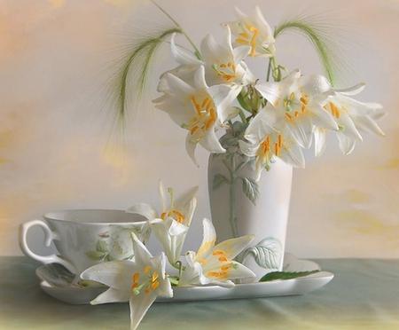 Good Morning Flowers Nature Background Wallpapers On Desktop