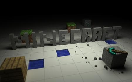 Minecraft Overview - plain, minecraft, grid, pc game