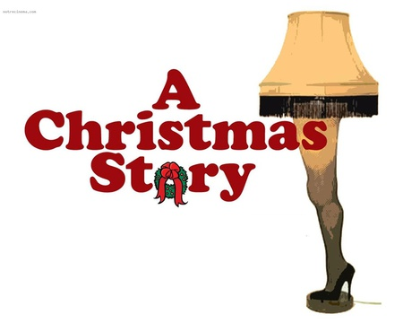 A Christmas Story - christmas, leg lamp, holiday, movies