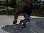 skatebording jump