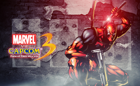 Deadpool Marvel vs Capcom 3 - marvel, wade, mouth, a, capcom, with, deadpool, merc, weapon, x, wilson