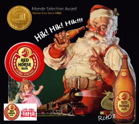 Santa Beer Other People Background Wallpapers On Desktop Nexus