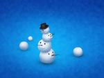 Wobbly Snowman