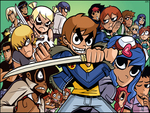 Scott Pilgrim Comic Cast