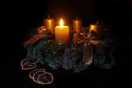 advent first candle other abstract background. Black Bedroom Furniture Sets. Home Design Ideas