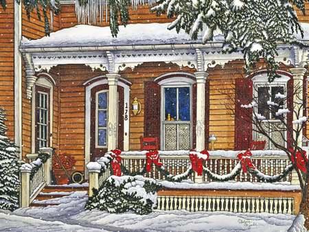 The Old Farmhouse Porch