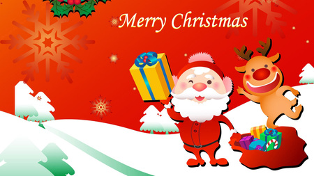 Cute Christmas - Other & Abstract Background Wallpapers on Desktop ...