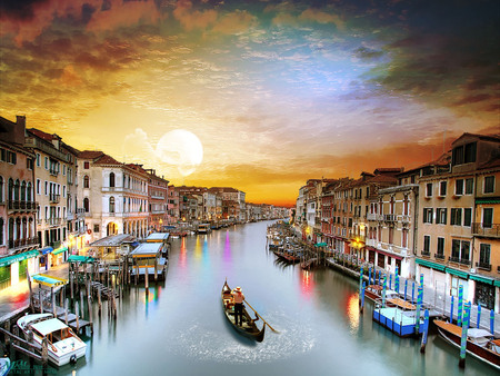 Venice Italy Sky Nature Background Wallpapers On Desktop