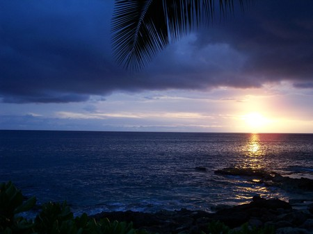 Hawaii Sunset - sunset, photography, hawaii, island, beach, sun
