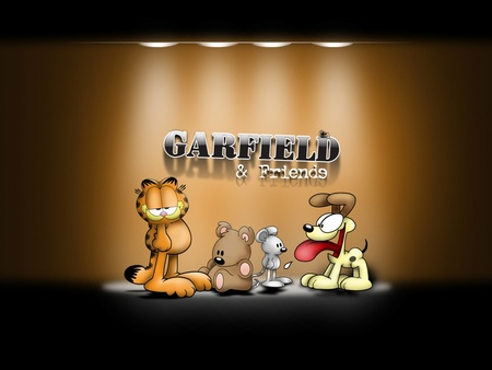 Garfield and Friends - garfield and friends, friends, garfield